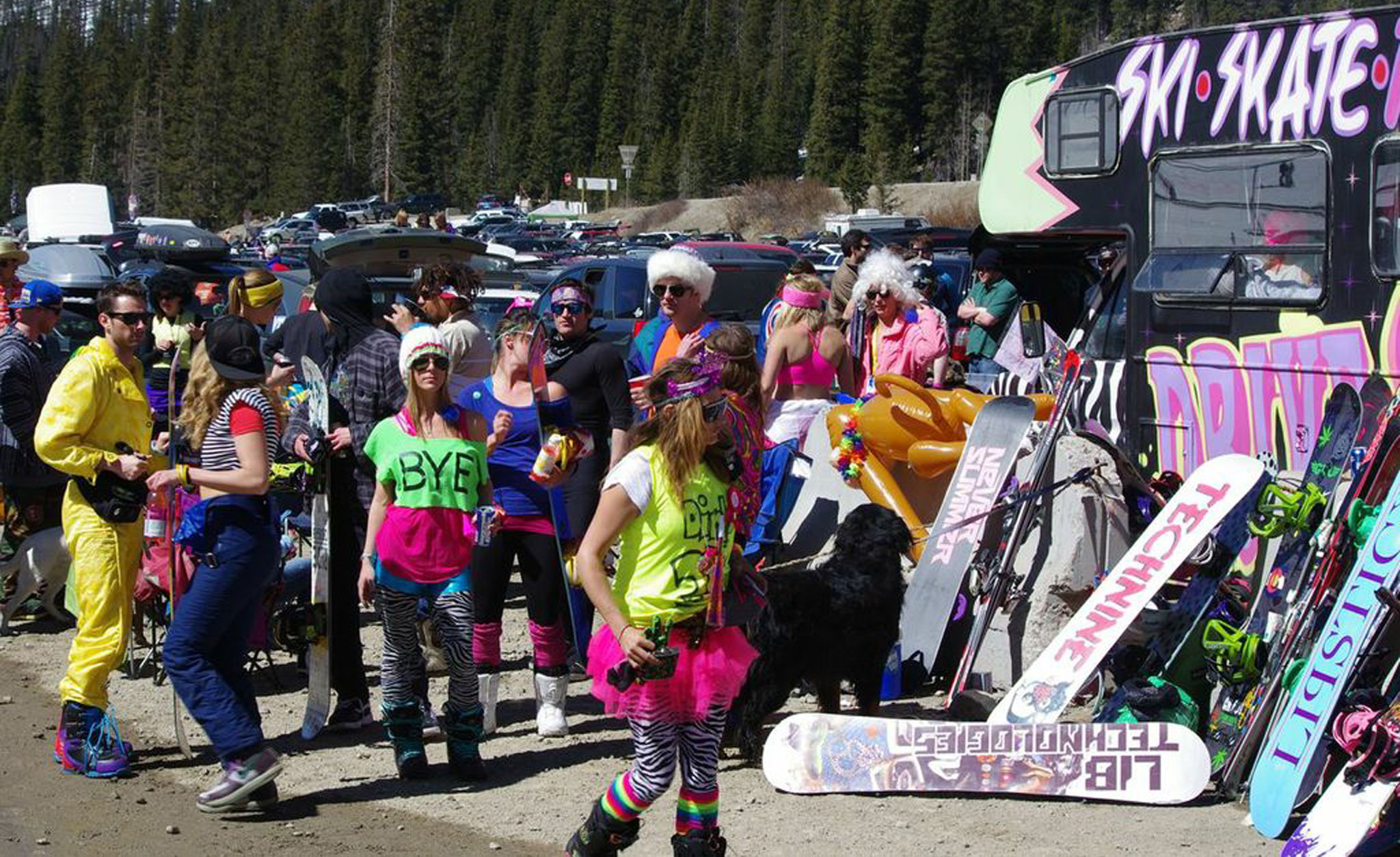 Beach Party; Arapahoe Basin, Colo.