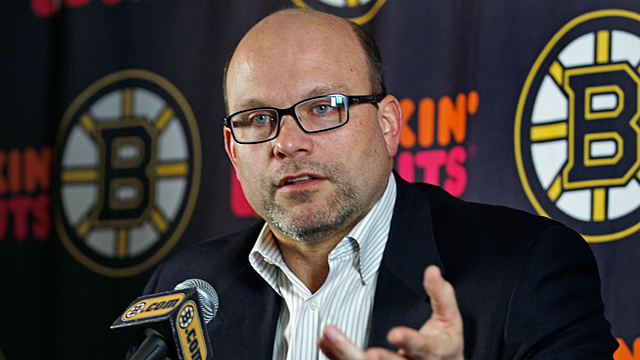 Boston Bruins general manager Peter Chiarelli
