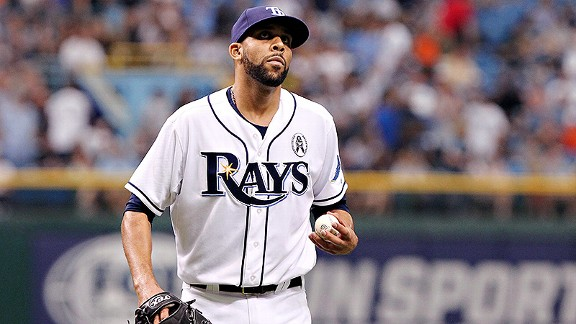 David Price Rays Tampa Bay