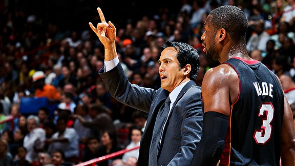 Erik Spoelstra for coach of the year