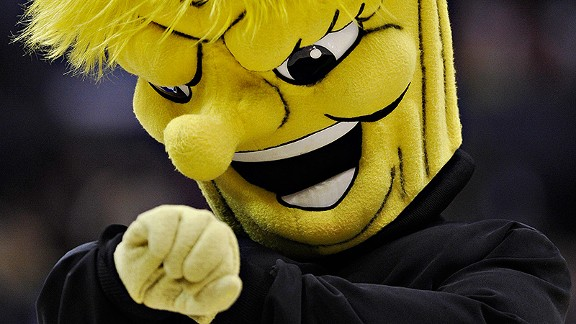 Wichita State Shockers mascot