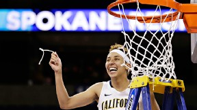 Senior Layshia Clarendon scored 25 points for Cal in its Elite Eight win.