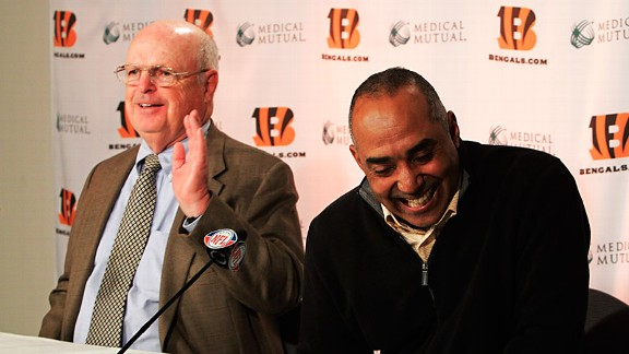 Mike Brown and Marvin Lewis