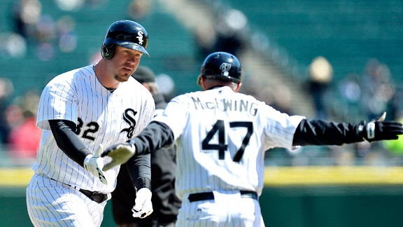Joe McEwing, Adam Dunn