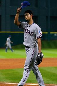Yu Darvish casi perfecto Texas