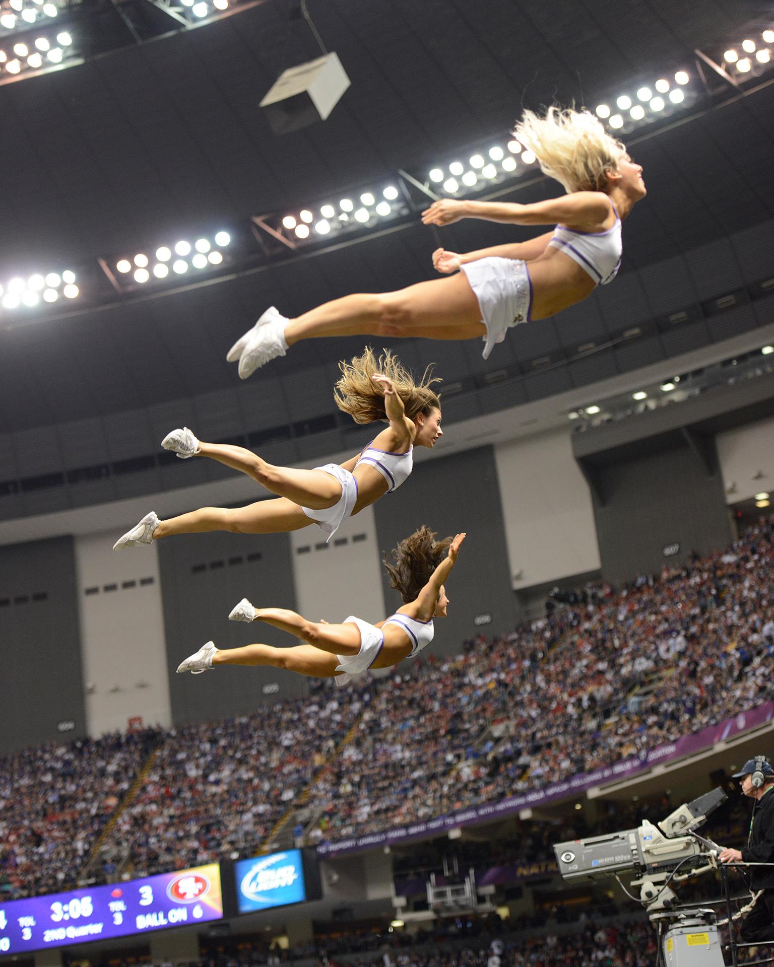 Ravens Cheerleaders