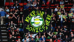 Seattle SuperSonics fans
