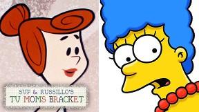 Marge Simpson & Wilma Flinstone