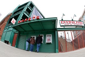 Fenway Park ticket office