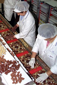 Lindt & Spruengli chocolate factory