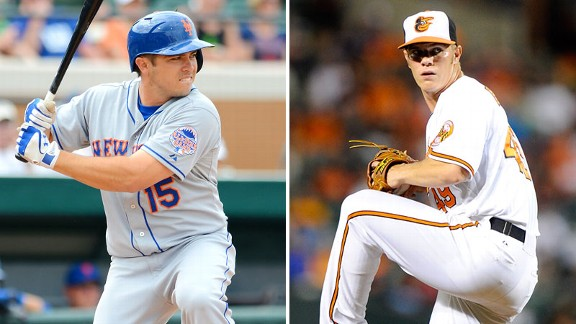 Travis D'Arnaud, Dylan Bundy