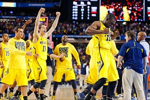 Michigan celebrates