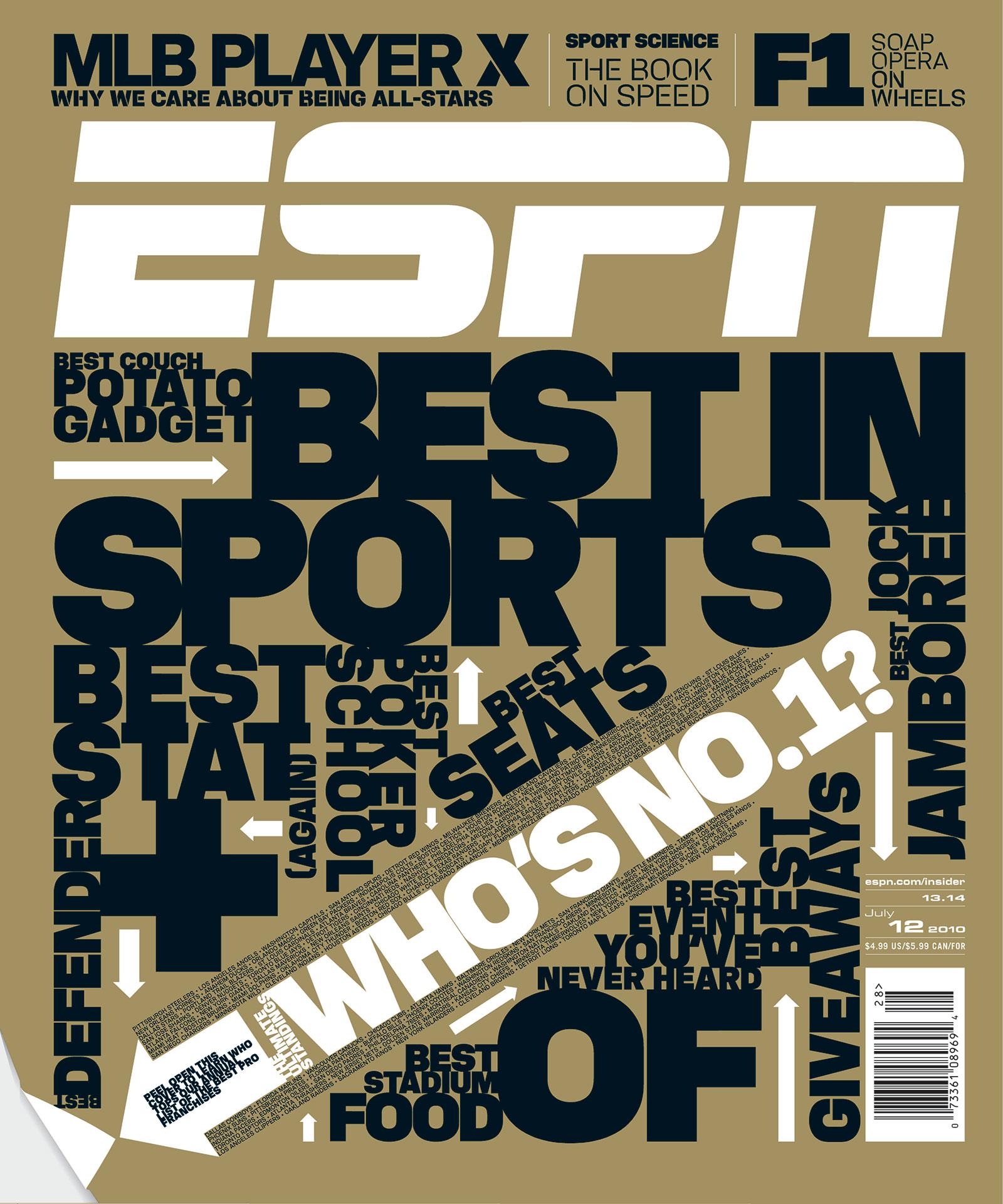 ESPN The Magazine 2010 Covers
