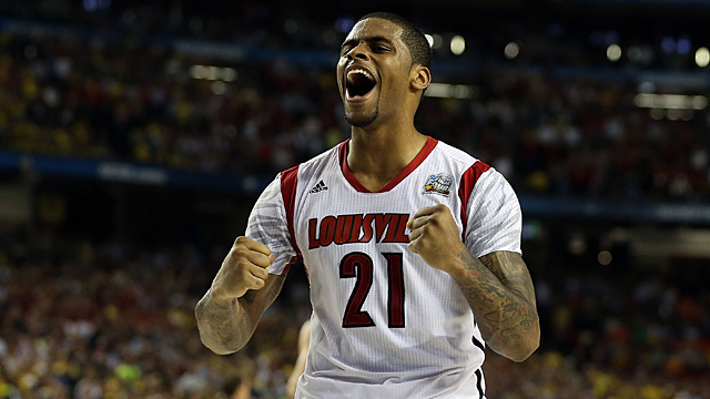 Chane Behanan #21 of the Louisville Cardinals