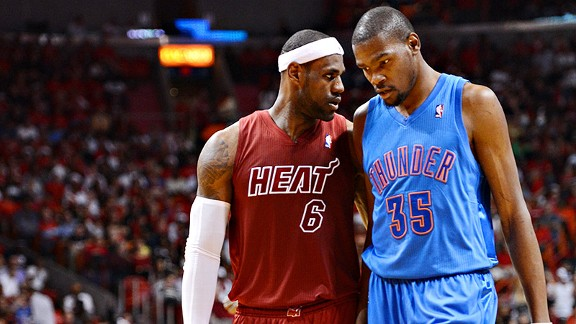 Kevin Durant, LeBron James