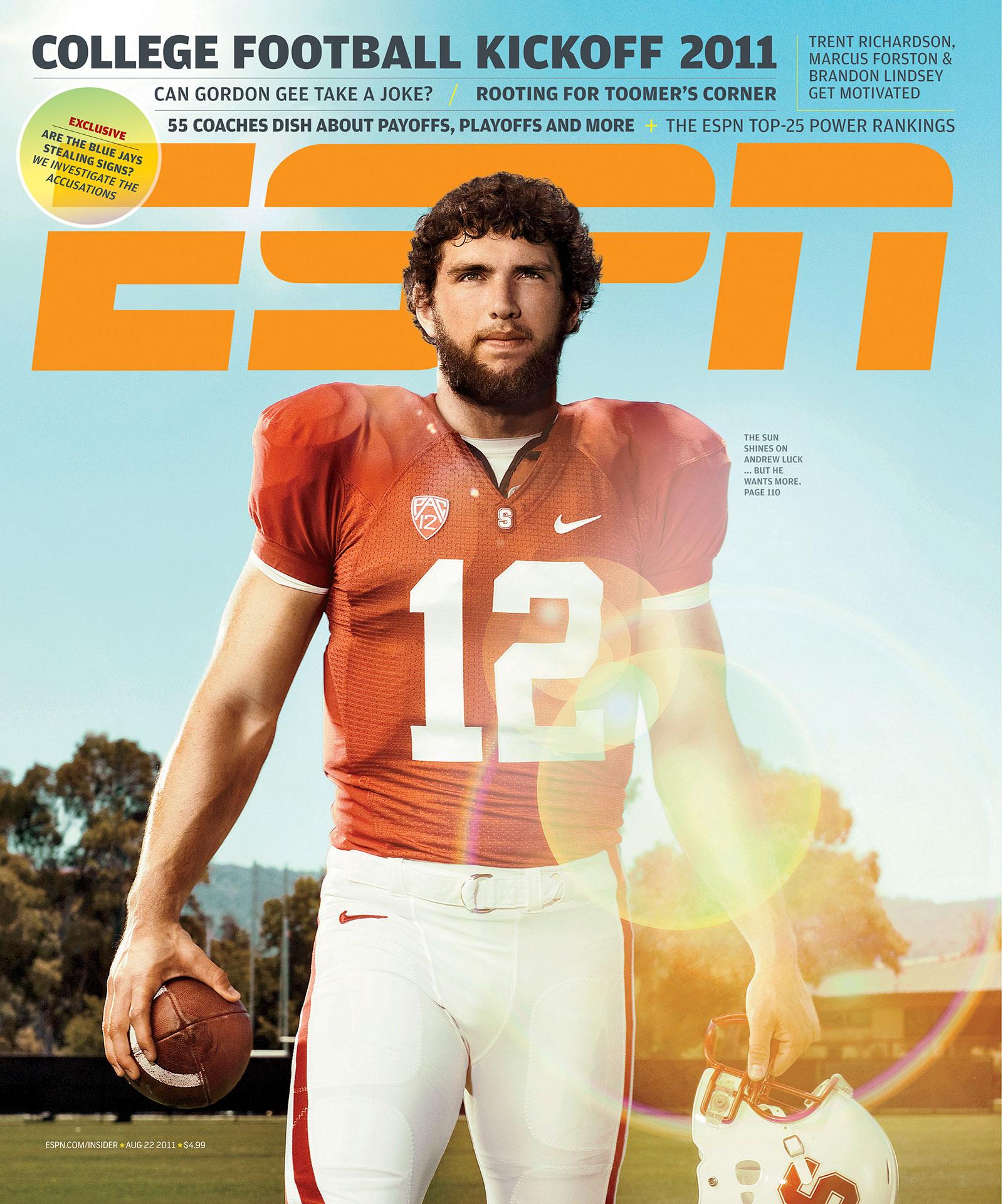 ESPN The Magazine 2011 Covers