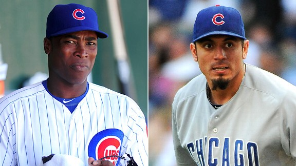 Alfonso Soriano and Matt Garza