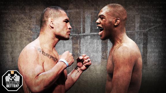 MMA - Who's better - Jon Jones or Cain Velasquez? Jon Jones Vs Cain Velasquez