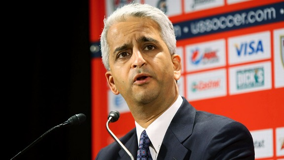 Foudy believes there would be no NWSL without the support of U.S. Soccer and its president, Sunil Gulati.