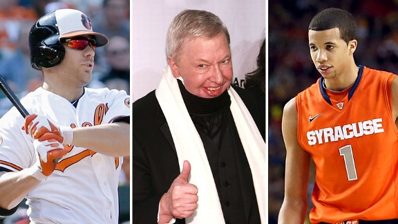 Chris Davis, Roger Ebert and Michael Carter-Williams