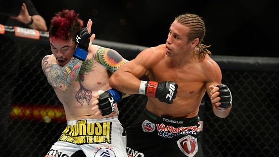 Urijah Faber and Scott Jorgensen