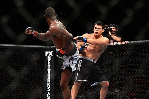 Uriah Hall and Kelvin Gastelum