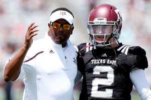 Kevin Sumlin, Johnny Manziel 