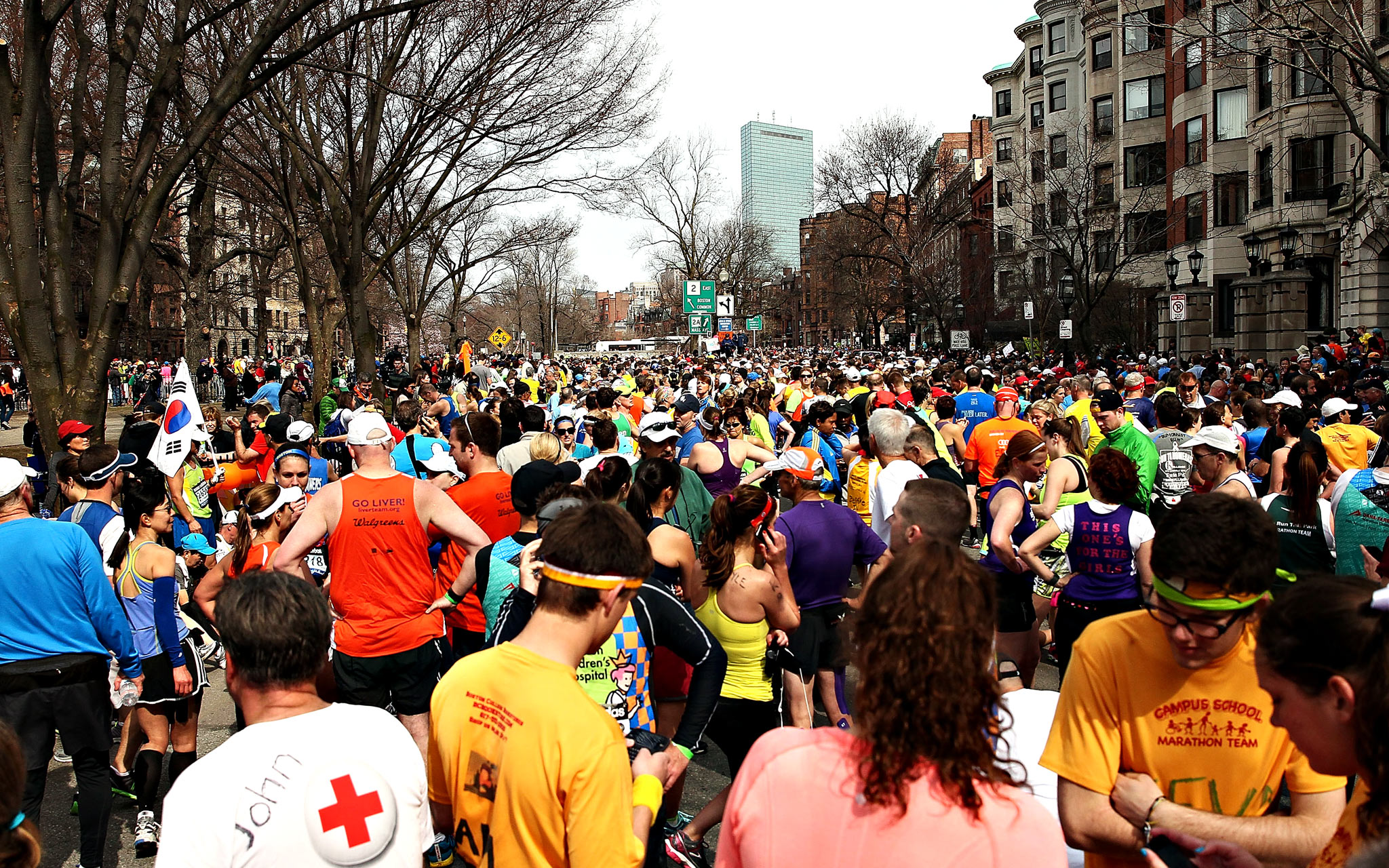 117th Boston Marathon