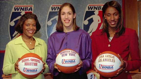 Sheryl Swoopes, Rebecca Lobo, Lisa Leslie