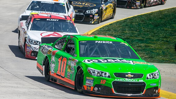 The .526-mile, paper clip-shaped track at Martinsville generally eats up rookies, but Danica Patrick stunned her crew with a 12th-place finish.