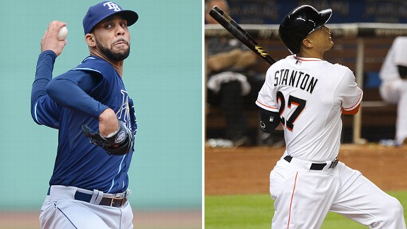David Price, Giancarlo Stanton