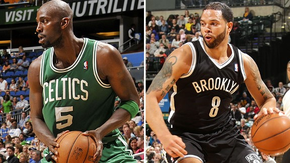 Kevin Garnett, Deron Williams
