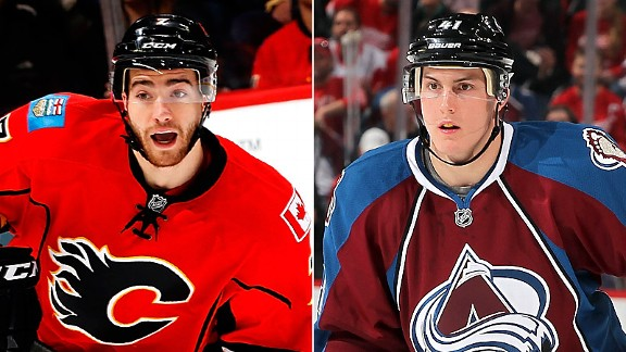 TJ Brodie and Tyson Barrie