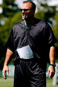 Michigan State defensive coordinator Pat Narduzzi