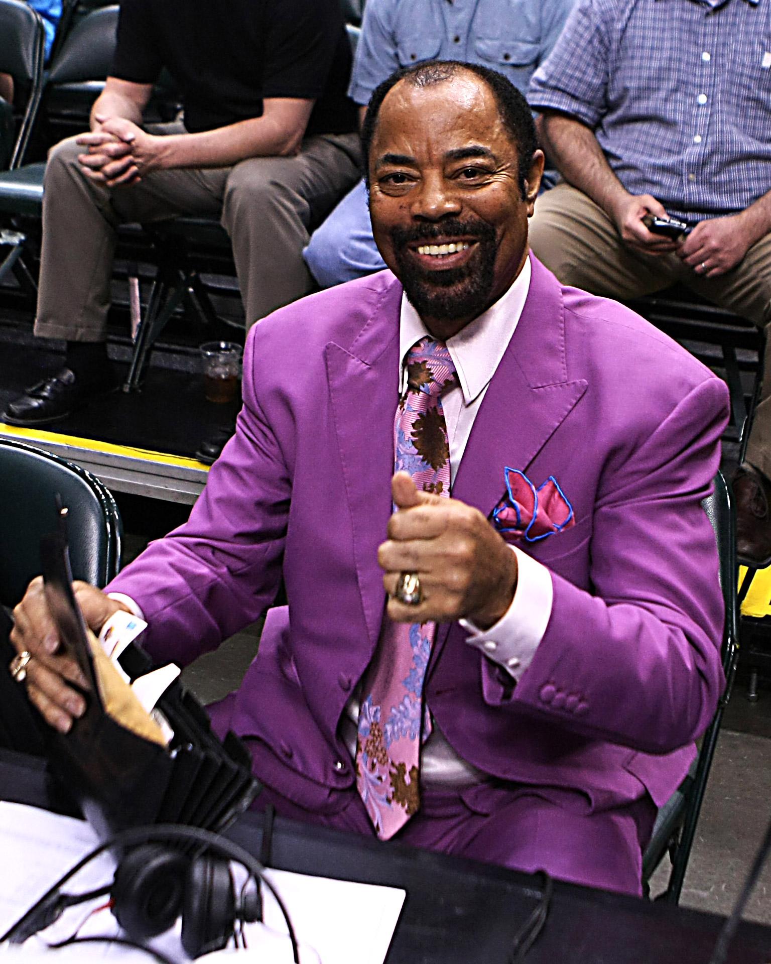 Rockin The Lavender Walt Clyde Frazier ESPN