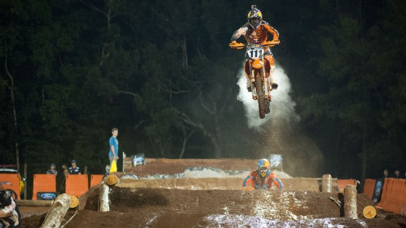 Taddy Blazusiak said of his tough Enduro X win, To end up winning this thing today is just unreal.