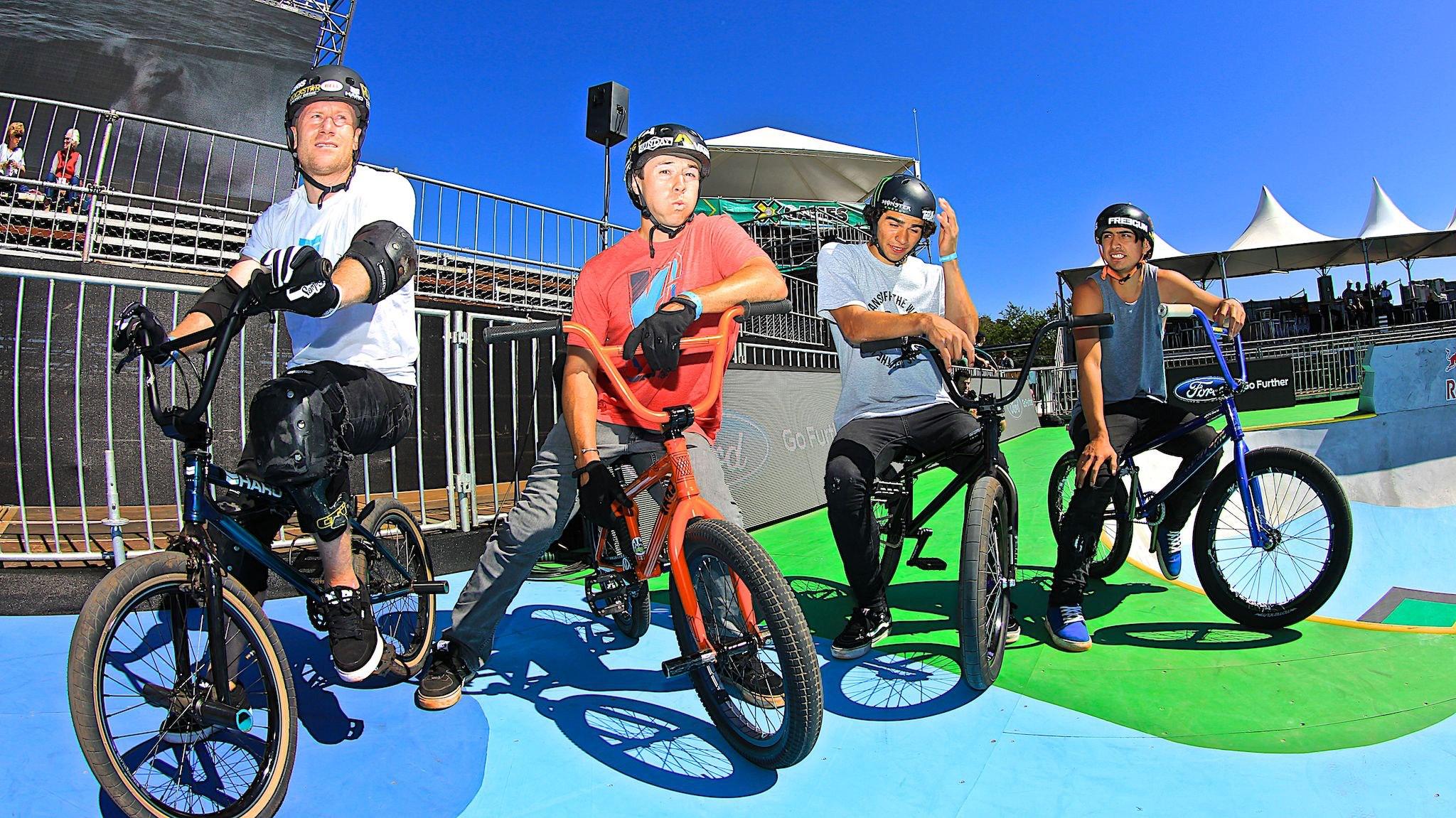 Treinos BMX Park