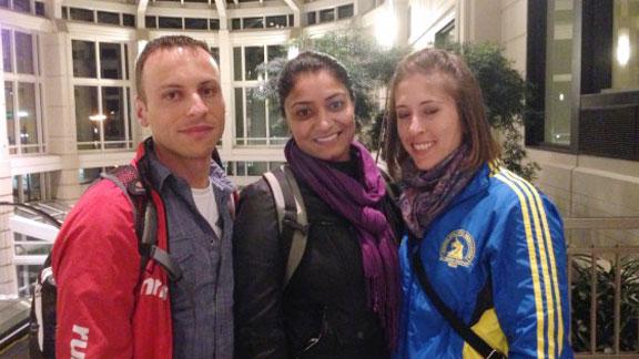 Katy, John, Amisha