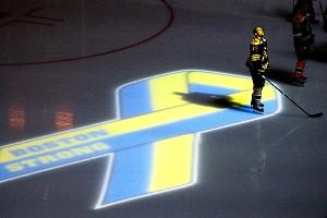 Dennis Seidenberg #44 of the Boston Bruins