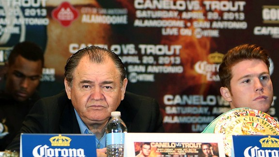 Chepo Reynoso, Canelo Alvarez