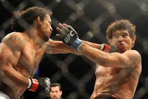 Benson Henderson and Gilbert Melendez