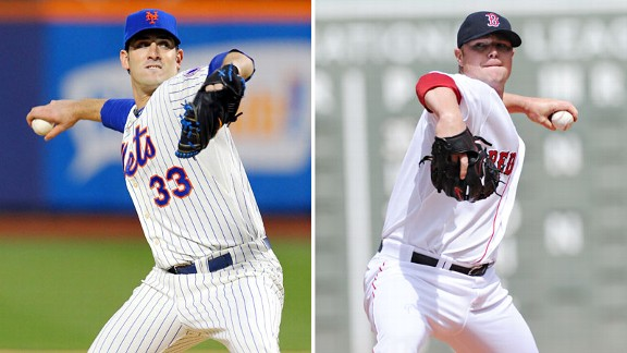 Matt Harvey and Jon Lester