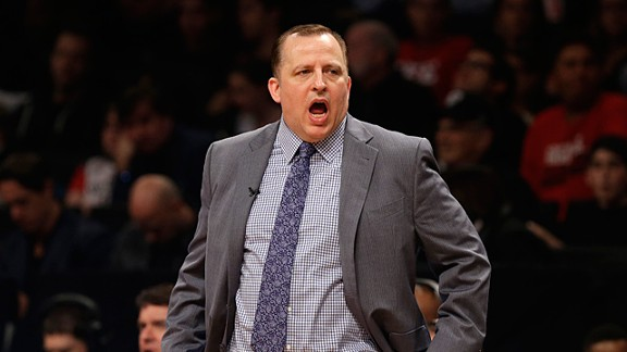 Chicago Bulls head coach Tom Thibodeau