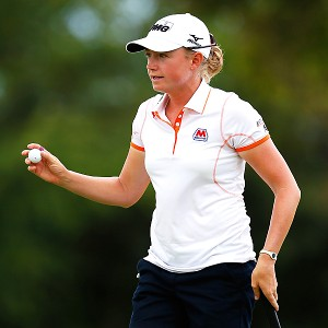 Stacy Lewis, who grew up in The Woodlands, Texas, should attract a large gallery this week.