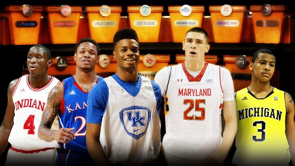 2013 NBA draft - ESPN Insider's NBA lottery team draft guides