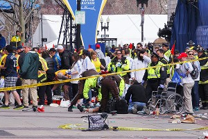 Boston Marathon first responders