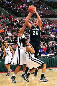 Makayla Waterman, the No. 30 prospect in 2014, scored 24 points in the state championship game.