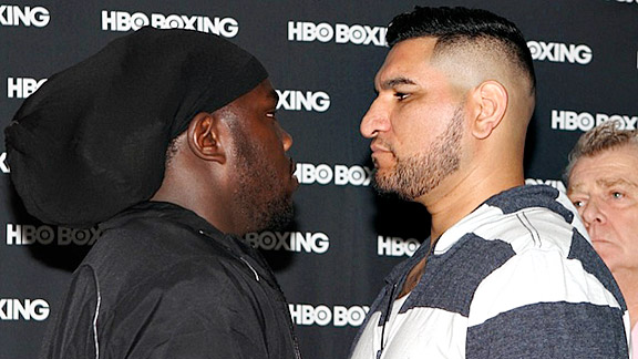 Bermane Stiverne and Cristobal Arreola