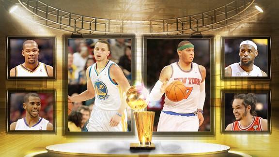 Playoff MVPs Illustration