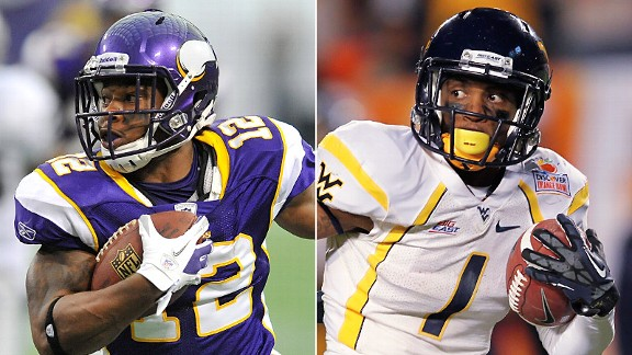 Percy Harvin and Tavon Austin